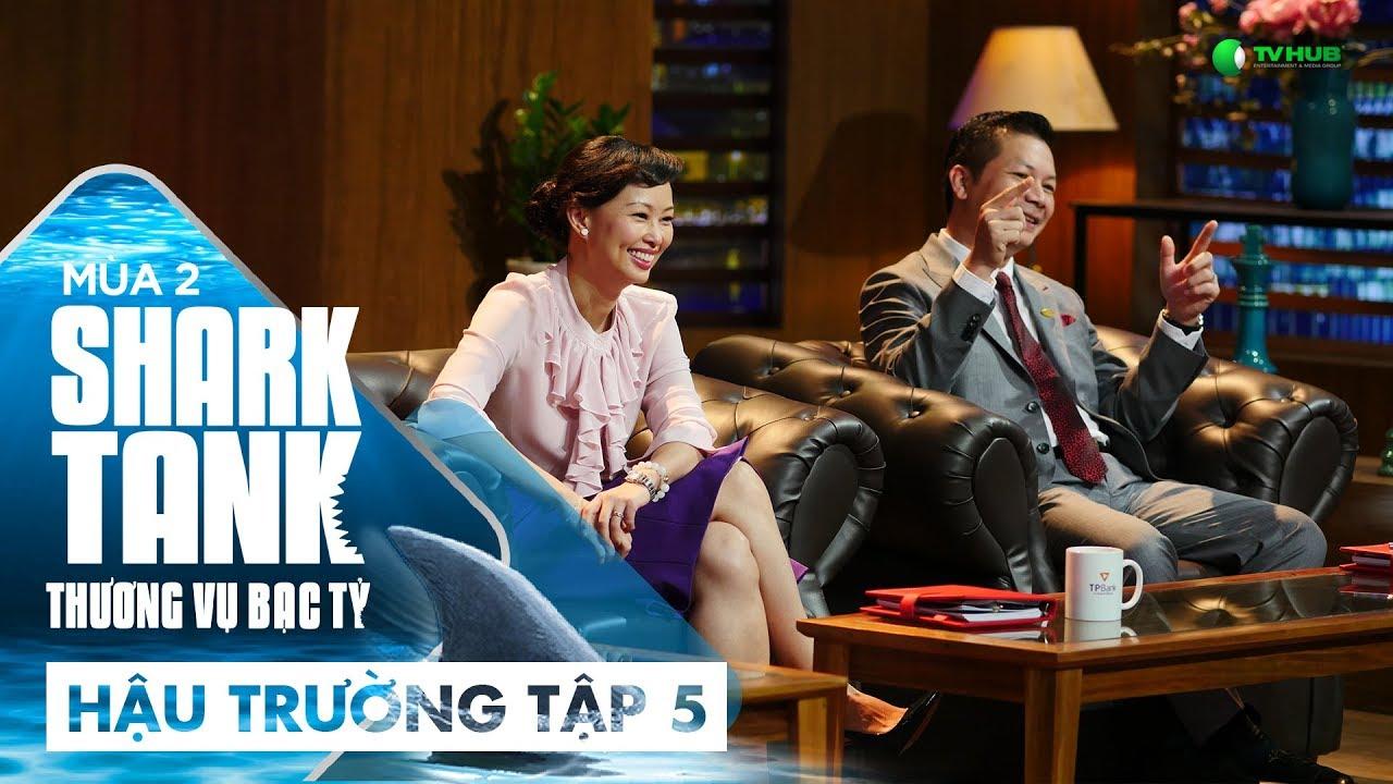 [Hậu Trường Tập 5] Shark Linh Hào Hứng Khi Thấy...