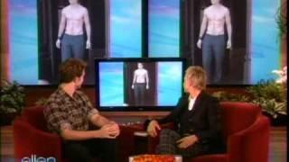 New Moon's Robert Pattinson on The Ellen DeGeneres Show Friday Nov 20 2009 Part 2 of 2