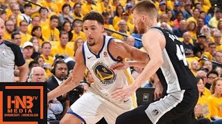 Golden State Warriors vs San Antonio Spurs Full Game Highlights / Game 1 / 2018 NBA Playoffs thumbnail