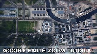 Google Earth - Earth Zoom in/out Tutorial (Record Video)