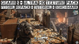 How to install (Gears 5) Fitgirl Repack + Ultra HD Texture Pack (Tested & Played) + Benchmark!