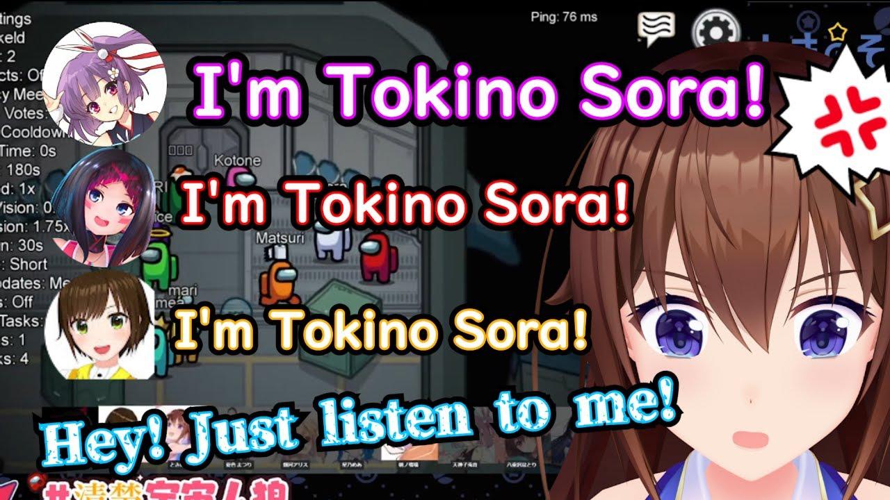 Download Unusually angry Sora-chan - Tokino Sora - Azki - Tenjin Kotone【 Hololive ▷ Eng sub】