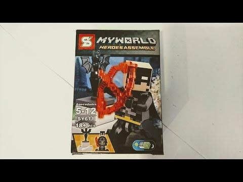 Unlicensed Batman Chinese Knock-Off Legos