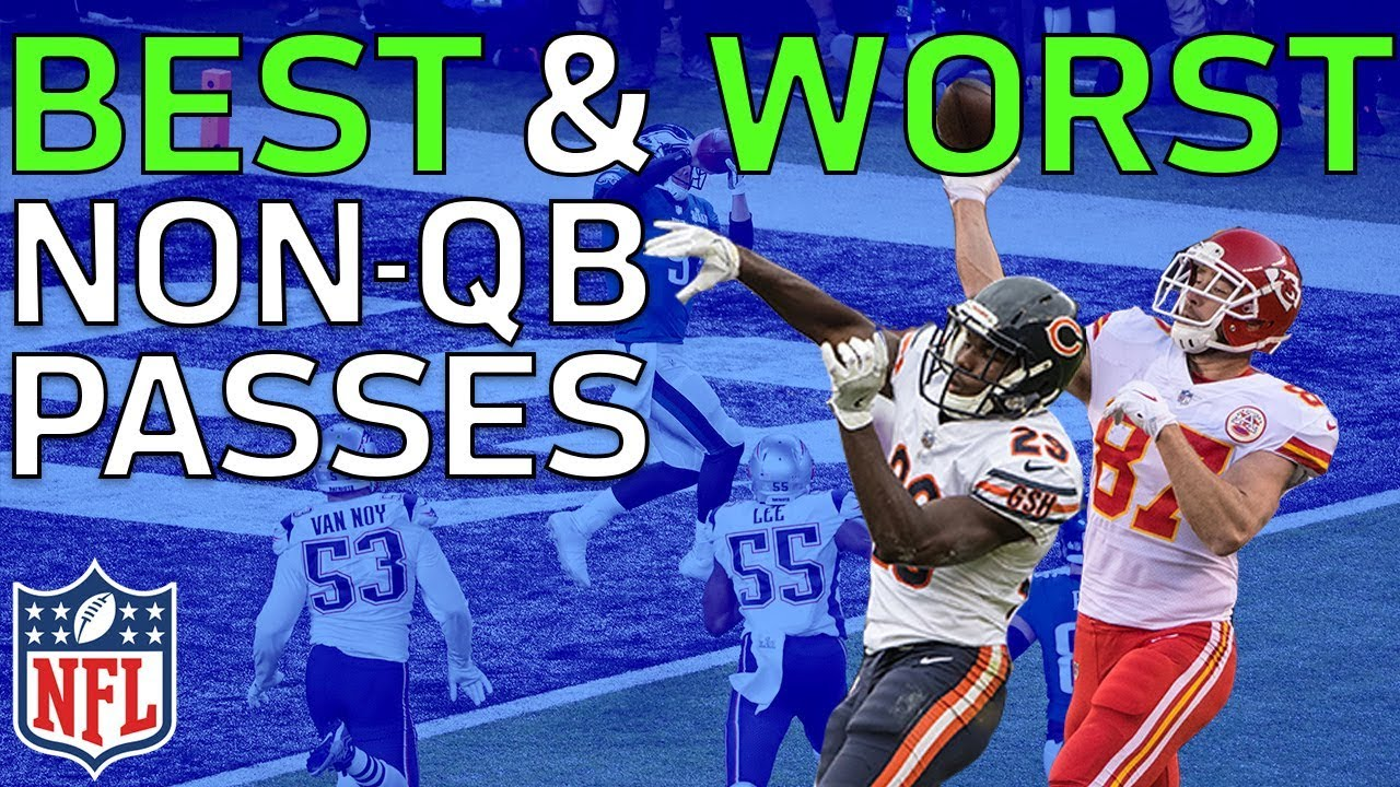 Best Throws & Worst Fails from Non-QB Passes in the 2017 NFL Season | NFL Highlights #1