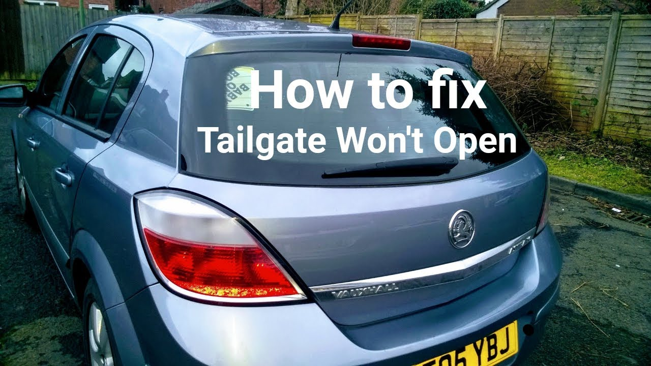 Astra Mark 4 Fuse Box How To Fix H Mk5 Boot Tailgate Not Opening Youtube