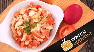 Itlog na Maalat Pinoy Salad (Salted Egg Salad)