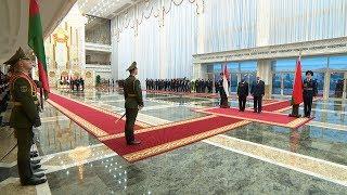 Встреча Лукашенко и Президента Судана прошла во Дворце Независимости