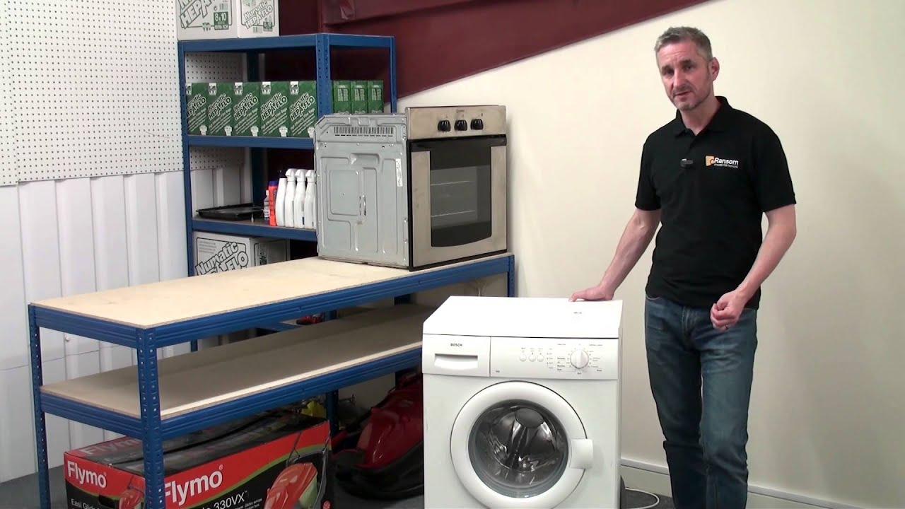 how to fix a washing machine that won t start