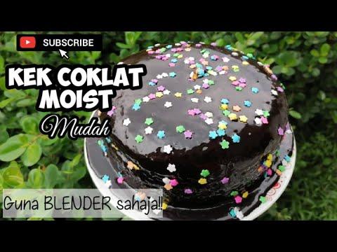kek-coklat-moist-mudah-(guna-blender)