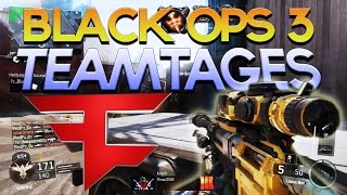 NEW BLACK OPS 3 TEAMTAGES ALREADY? - Top 5 Underrated Teams #71