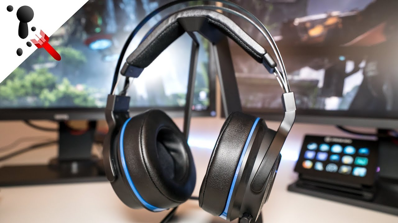 Razer Thresher Ultimate 7.1 Wireless Headset Review (PS4   PC) - YouTube 15fd06bacc