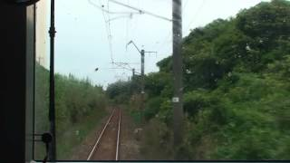 川南~都農 運転台展望 トレインハンターズ九州 2013/08/24