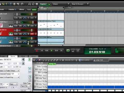 mixcraft 6 how to make a trap beat