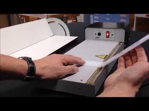 Gut gemocht Acrylglas umformen - Kanten biegen - YouTube WP24