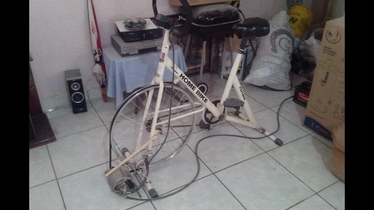 Bici generador bicicleta generadora de electricidad - Generador de luz ...
