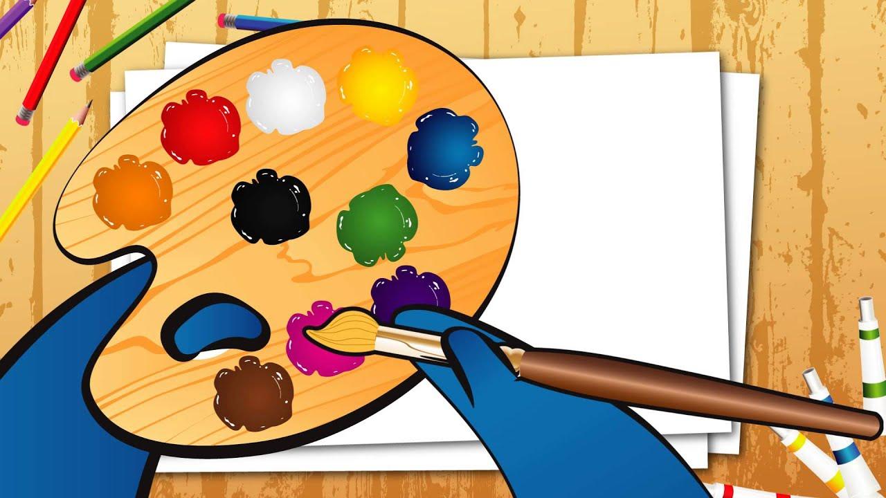 As cores em ingl u00eas Aprendendo com a Tuturma YouTube # Decoração De Montras Em Ingles