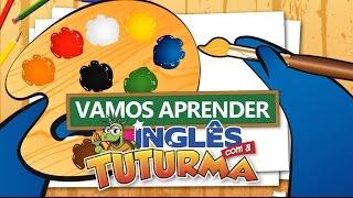 As cores em inglês - Aprendendo com a Tuturma