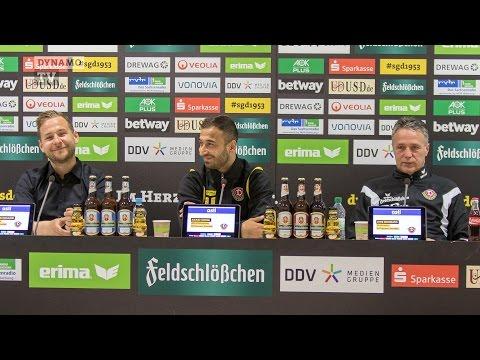 29. Spieltag | SGD - F95 | Pressekonferenz vor dem Spiel