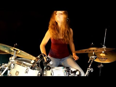 DIO (Lock Up The Wolves); drum cover by Sina