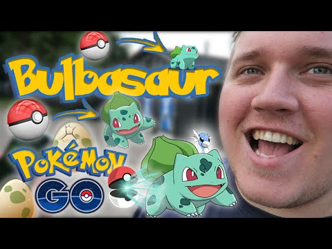 FANGER 11 BULBASAUR :: Dansk Pokemon GO