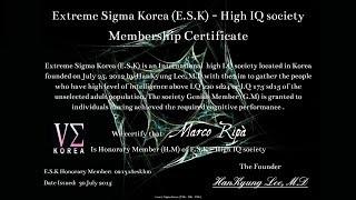 BREAKING NEWS: Terremoto nel mondo delle High IQ Society!!