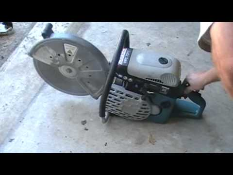 Makita DPC 7311 Concrete Saw.MP4 - YouTube on