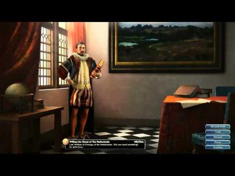 Civilization V OST | William Peace Theme | In Naam van Oranje