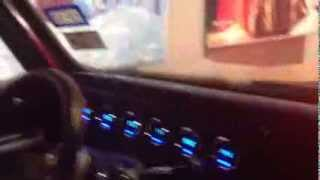 1972 Chevy c10 Chevrolet rat rod Longbed truck digital dash