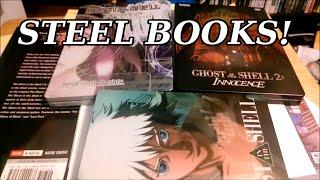 Ghost In The Shell Steelbooks!