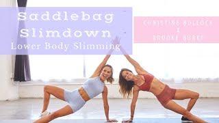 Saddlebag Slimdown: Lower Body Slimming Workout | Christine Bullock x Brooke Burke