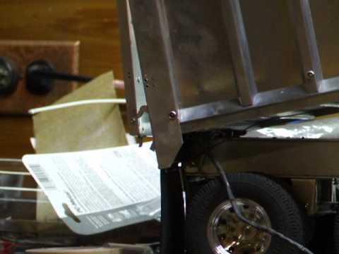 Dump Trailer Tailgate Latch Test Youtube