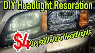 How to Restore Headlights - $4 DIY - Dirtcheapdaily : Ep.18