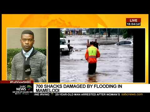 Gauteng floods I More rains predicted in Pretoria