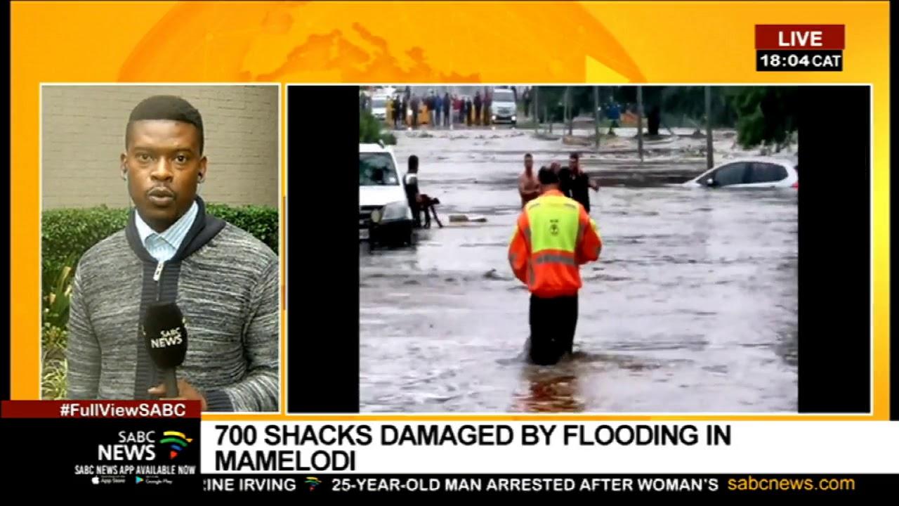 DECEMBER 2019: Gauteng floods I More rains predicted in Pretoria