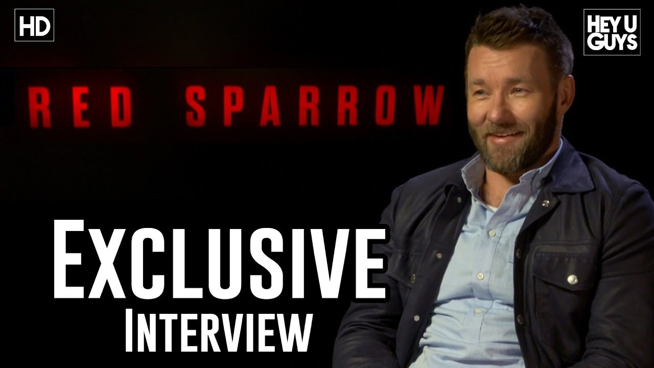 Joel Edgerton talks Red Sparrow & working with Jennifer Lawrence - YouTube