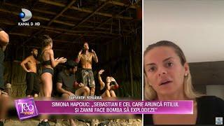 Teo Show(25.02.) - Logodnicul si mama Elenei vs Omar! Simona face lumina in razboiul Zanni - Elena!
