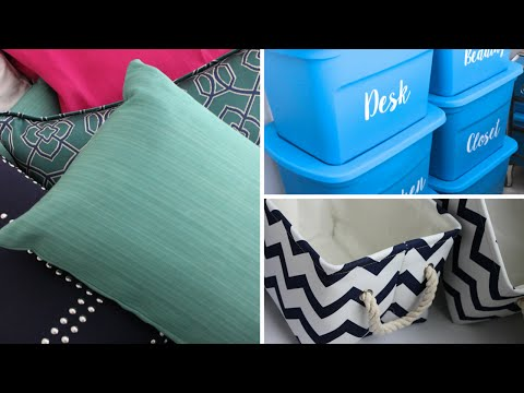 DORM ROOM TIPS & HAUL: Decor and Organization