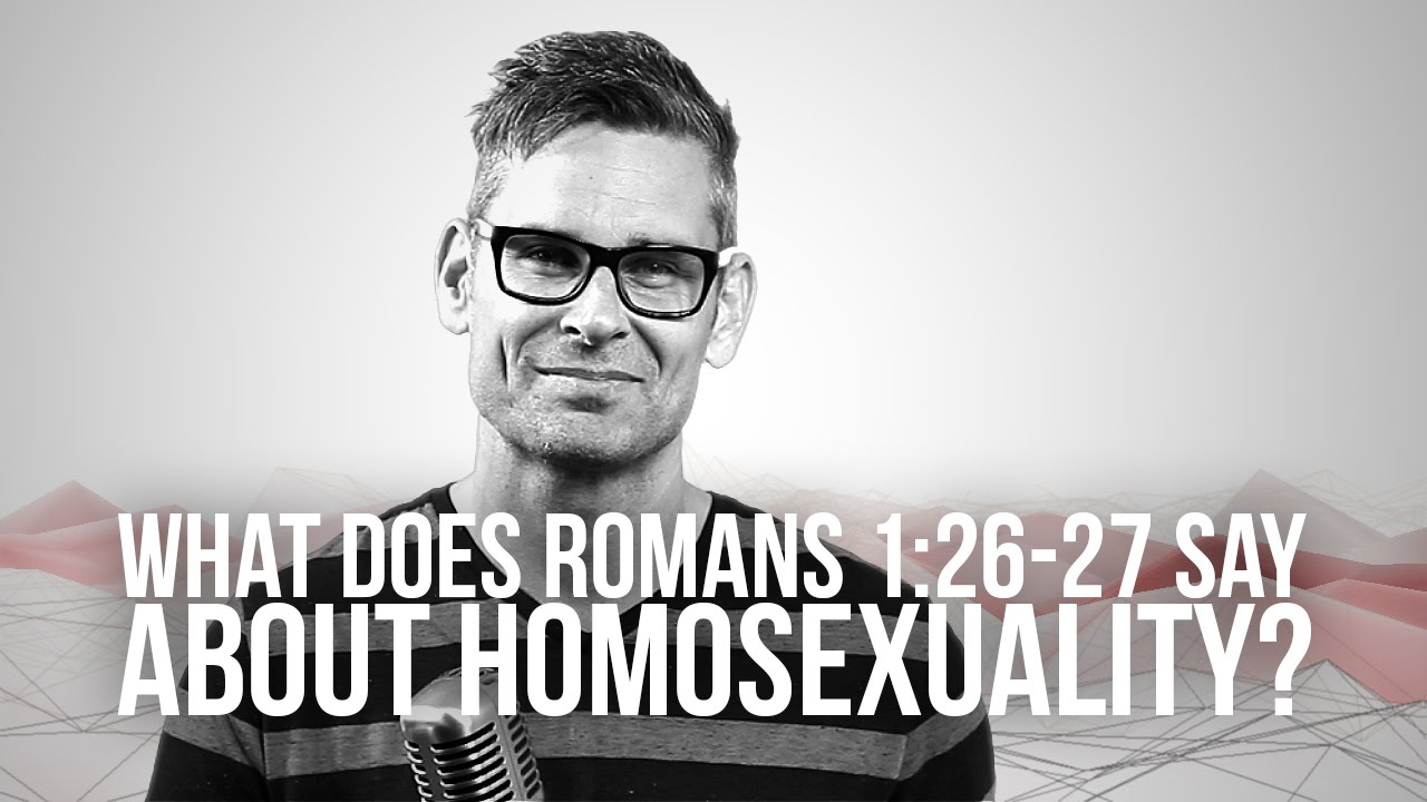 Romans 1 commentary homosexuality