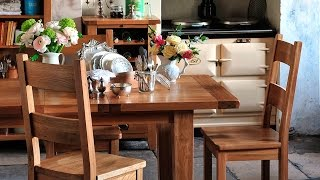 Vancouver Oak Extending Dining Table (100cm-140cm) - Pinesolutions
