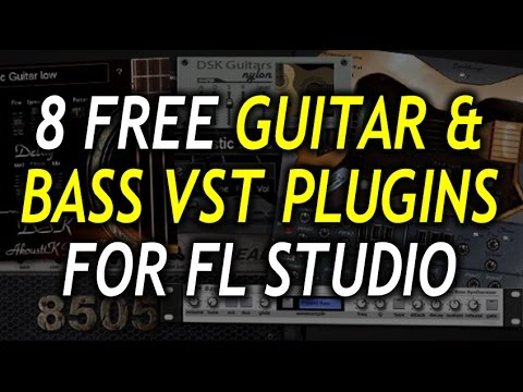 8 FREE GUITAR & BASS VST PLUGINS FOR FL STUDIO (WITH LINKS)