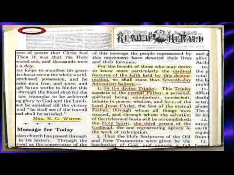 Ellen G. White & the Trinity Doctrine is true -by Bruce Price {special}