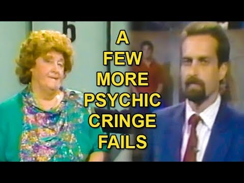 A Few More Psychic Cringe Fails!