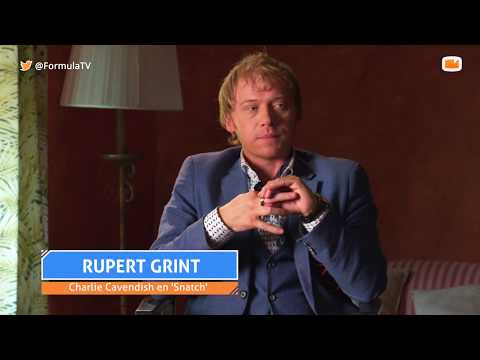 Rupert Grint interviewed by FormulaTV to promote Snatch season 2 (May 23, 2018)