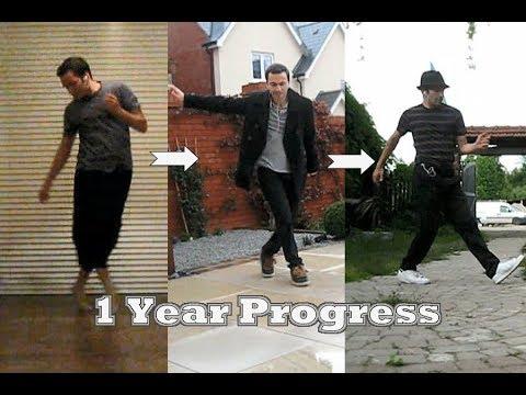 Electro Swing Dance Progress Timeline - 1 Year!