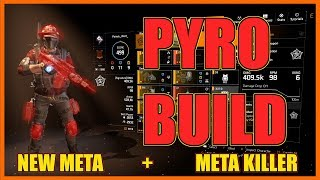 The Division 2 | Pyro Build | 500000 Armor | Burn and Melt Everything