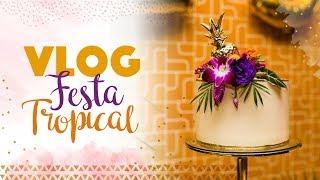 Montagem Festa Tropical