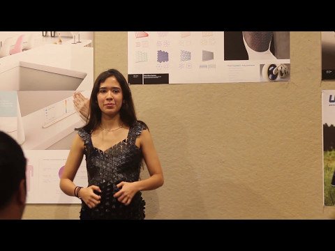 Maria's 3D Printed Dress
