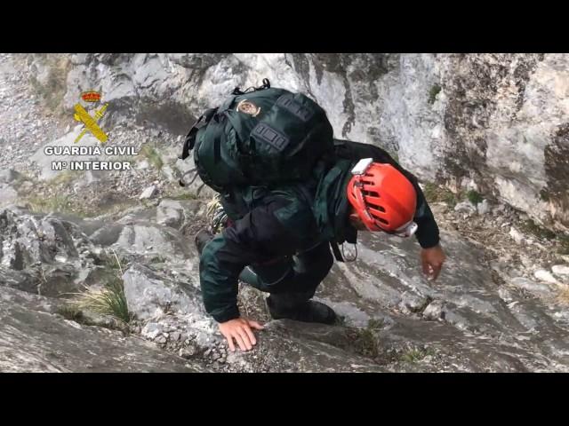 Labores rescate Picos Europa montañeros Zamora