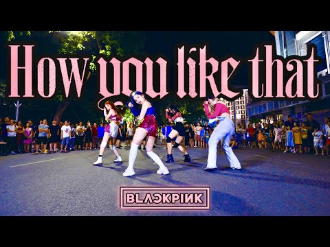 [KPOP IN PUBLIC CHALLENGE] BLACKPINK (블랙핑크) - HOW YOU LIKE THAT| Dance Cover by Fiancée | Vietnam