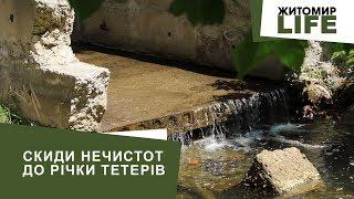 Нечистоти у річці Тетерів: активісти домоглися пояснення у директора КП «Житомирводоканал»